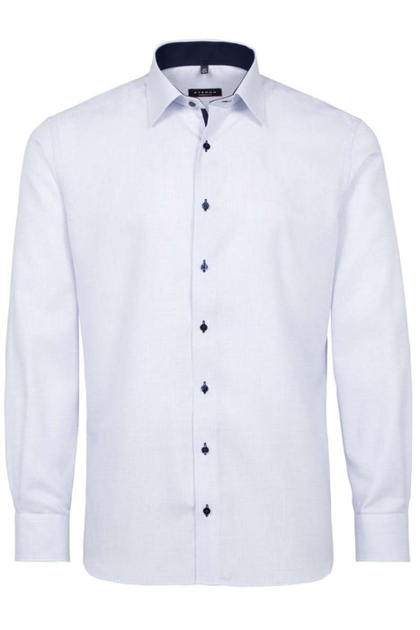 Eterna Soft Blue Dress Shirt