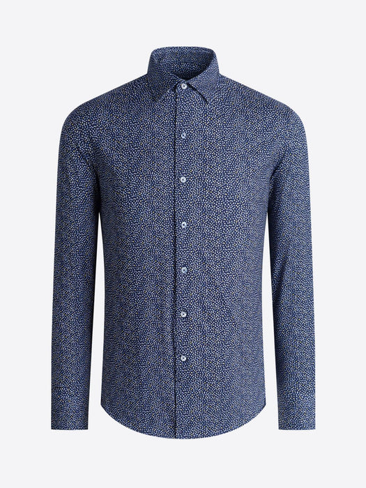 Bugatchi Performance Geometric Cotton Shirt