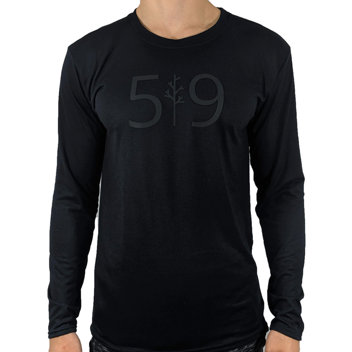 """Black Out"" Long Sleeve"