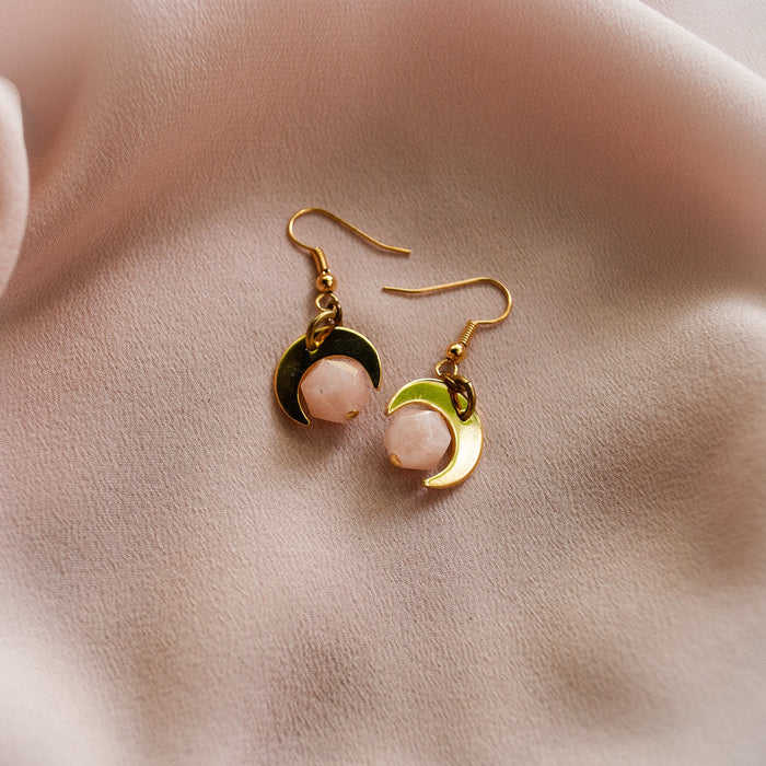 Lovers Earrings- Pink