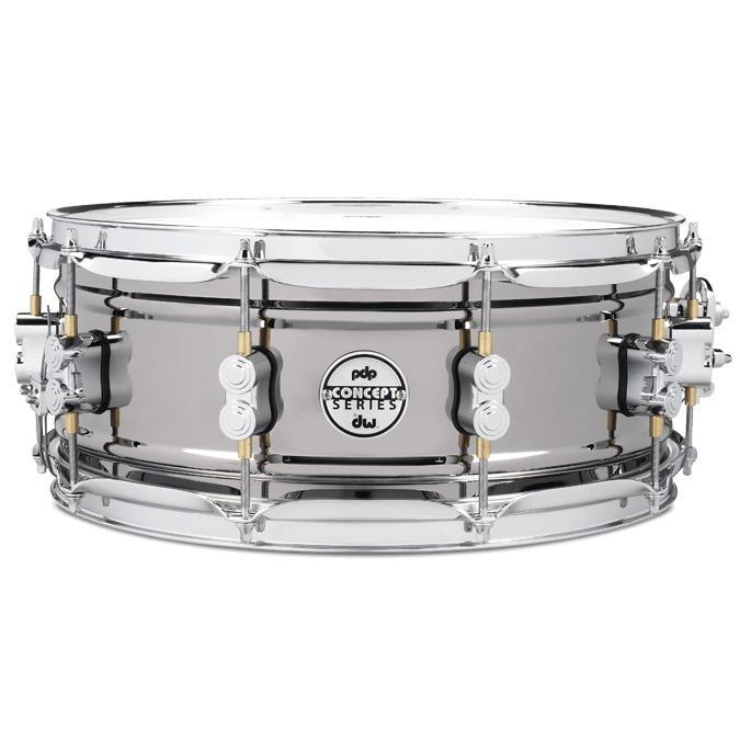 PDP Concept  Snare Black Nickel/Steel 5.5 x 14 1mm