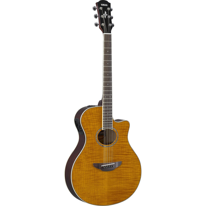 Yamaha APX600FM Acoustic Guitar - Flamed Maple Amber