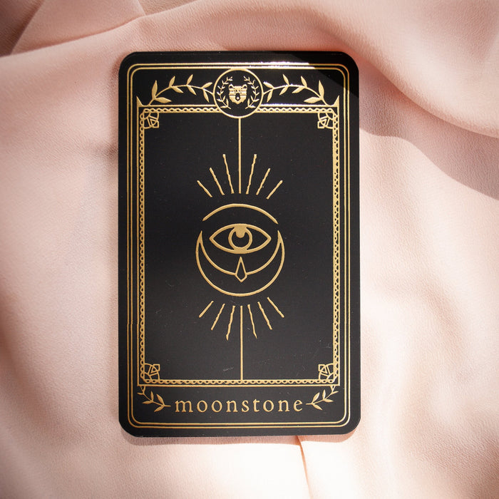 Crystal Card- Moonstone