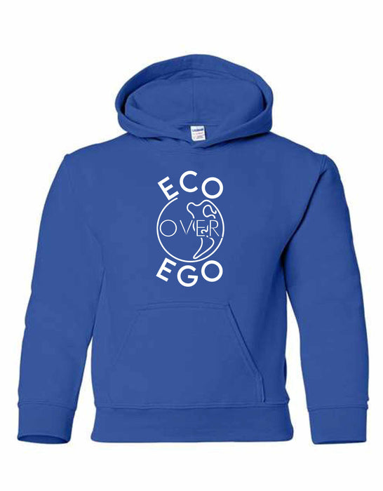 Eco over Ego Earth Day Hoodie
