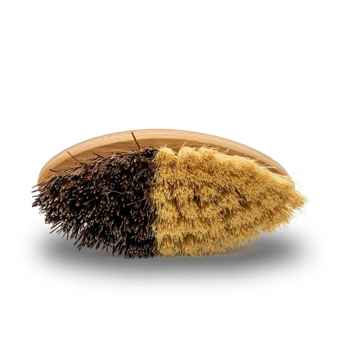 coconut sisal and bamboo vegetable/fruit cleaning brush