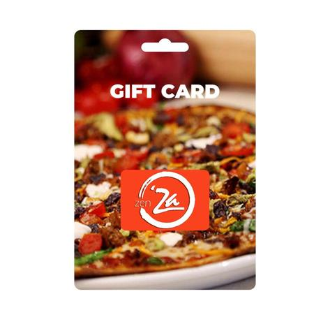 ZenZa Pizza Gift Card