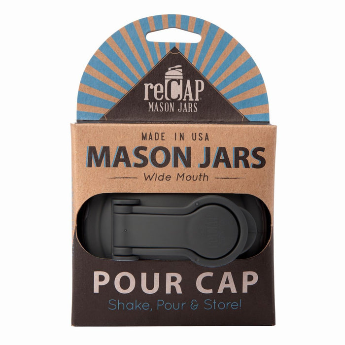 mason jar POUR lid/cap - regular mouth