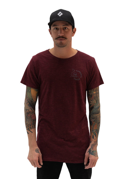 Sydney Tee - Sunburnt Minds Red