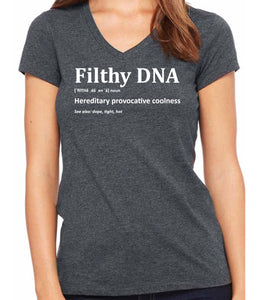 Filthy DNA Defined women's  t-shirt