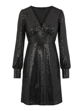 Load image into Gallery viewer, Vero Moda Darling Party Dress Black