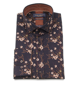 Guide London Blossom Print Shirt Black
