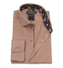 Load image into Gallery viewer, Guide London Trim Detail Shirt Tan