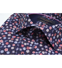 Load image into Gallery viewer, Guide London Pink and Blue Floral Shirt