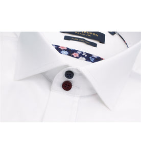 Guide London Multi Colour Button Shirt White
