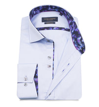 Load image into Gallery viewer, Guide London Plain Shirt with Trim Sky Blue