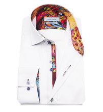 Load image into Gallery viewer, Guide London Stretch Trim Shirt White
