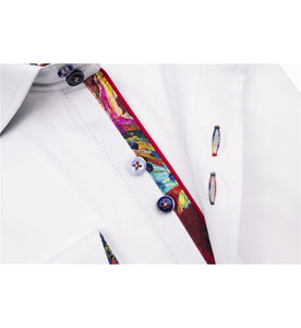 Guide London Stretch Trim Shirt White