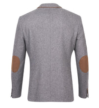 Load image into Gallery viewer, Guide London Wool Blazer Grey