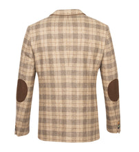 Load image into Gallery viewer, Guide London Light Tan Check Jacket
