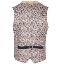 Load image into Gallery viewer, Guide London Light Tan Check Waistcoat