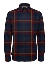 Load image into Gallery viewer, Selected Homme Gunnar Check Shirt Port
