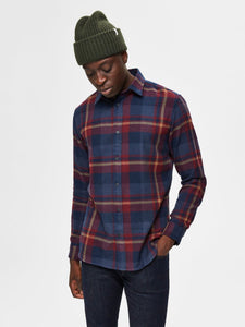 Selected Homme Gunnar Check Shirt Port