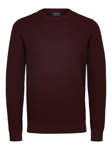Selected Homme Haron Jumper Wine