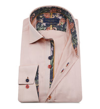 Load image into Gallery viewer, Guide London Multicolour Button Shirt Peach (LS75490)