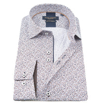 Load image into Gallery viewer, Guide London Repeat Dot Print Shirt White