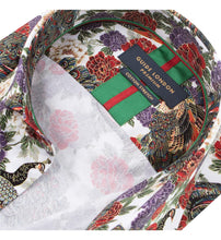 Load image into Gallery viewer, Guide London Bright Floral Print Shirt (LS75743)