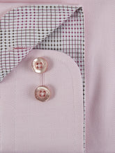 Load image into Gallery viewer, Remus Uomo Plain Herringbone Shirt Pink