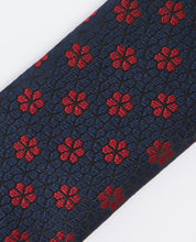 Load image into Gallery viewer, Remus Uomo Floral Tie Navy