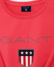 Load image into Gallery viewer, Gant Shield T-Shirt Watermelon