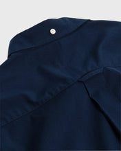 Load image into Gallery viewer, Gant The Broadcloth Short Sleeve Shirt Navy