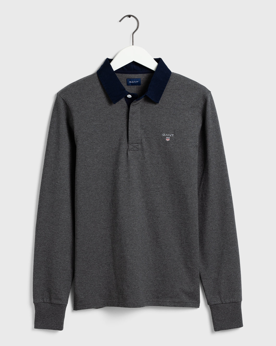 Gant Heavy Rugger Sweatshirt Grey