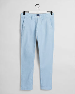 Gant Slim Sunfaded Chino Sky Blue