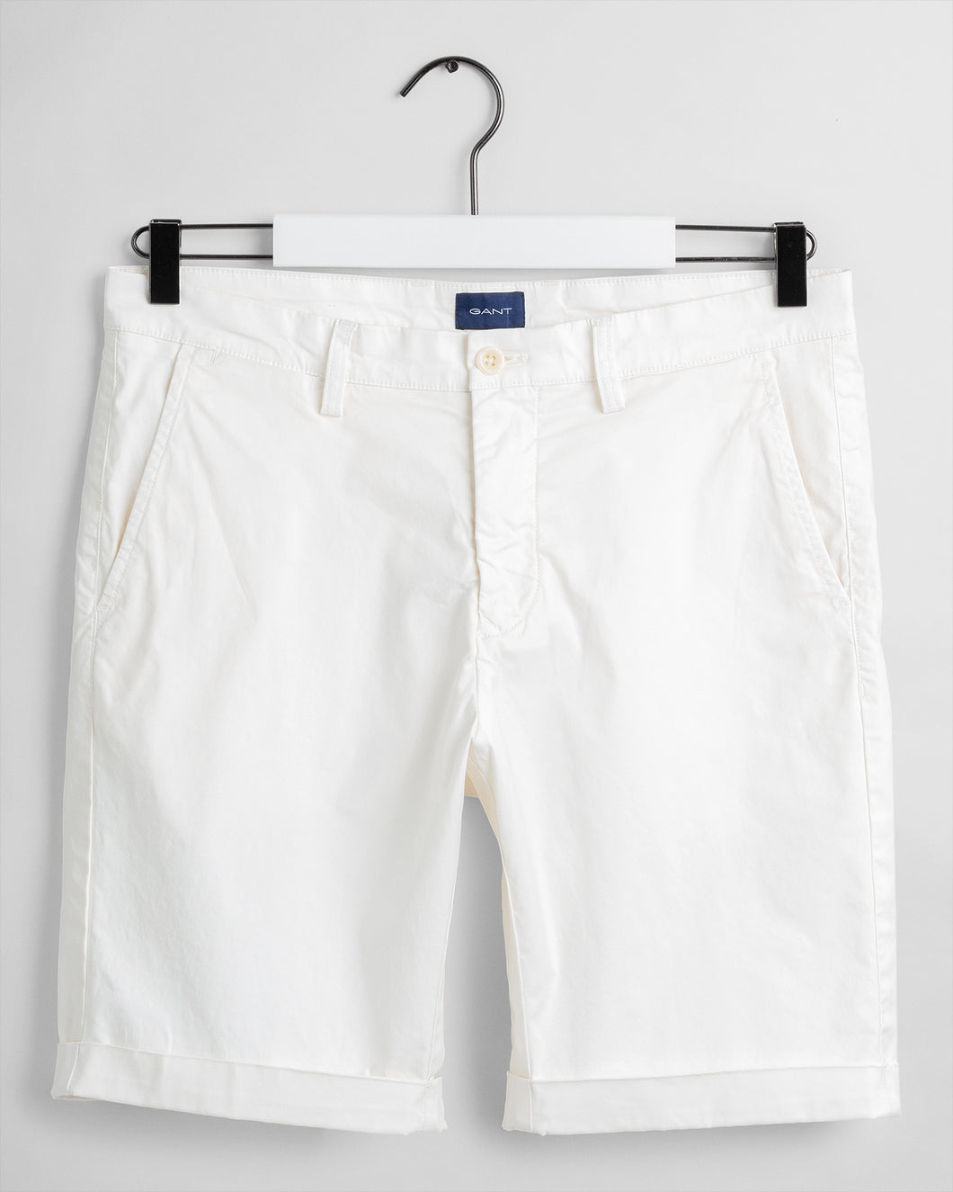 Gant Regular Sunfaded Shorts Eggshell