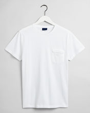 Load image into Gallery viewer, Gant Pique T-Shirt White