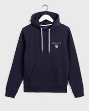 Load image into Gallery viewer, Gant Medium Shield Hoodie Navy