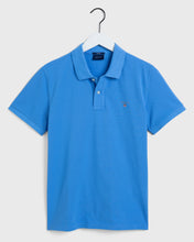 Load image into Gallery viewer, Gant Original Heavy Pique Polo T-Shirt Pacific Blue