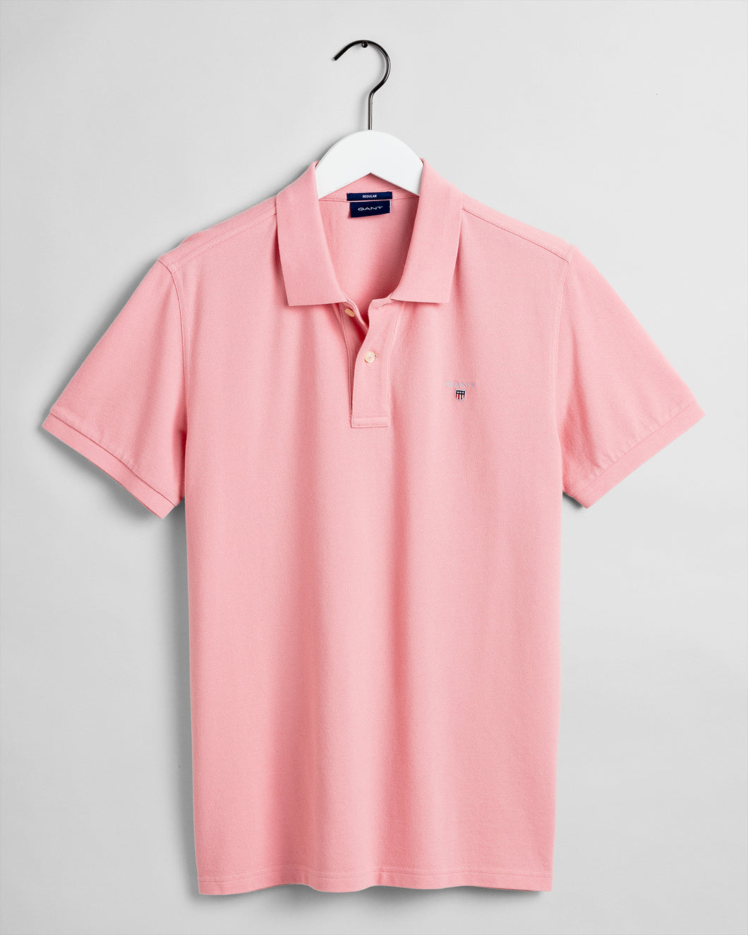Gant Original Pique Short Sleeve Rugger Summer Rose