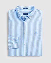 Load image into Gallery viewer, Gant Broadcloth Stripe Shirt Blue