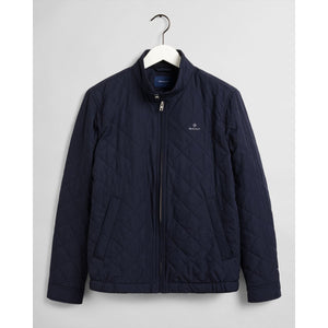 Gant Quilted Windcheater Navy