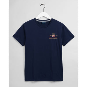 Gant Archive Shield T-Shirt Navy