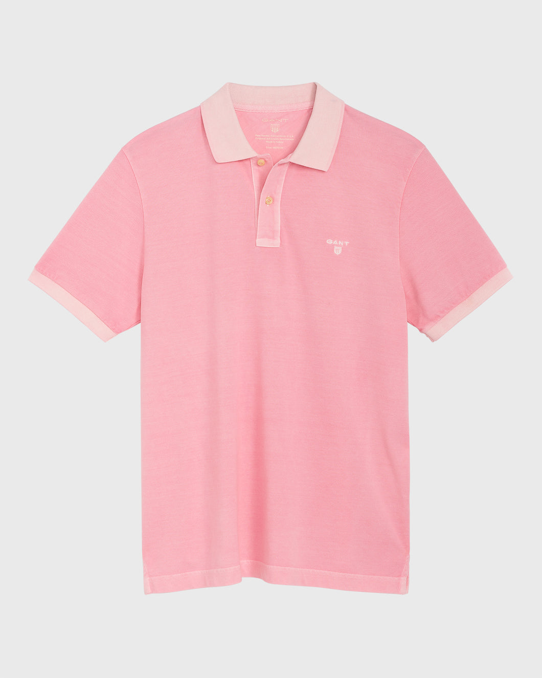 Gant Sunbleached Polo T-Shirt Pink