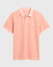 Load image into Gallery viewer, Gant Sunbleached Polo T-Shirt Peach