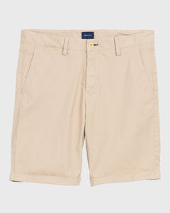 Gant Sunbleached Chino Shorts Sand