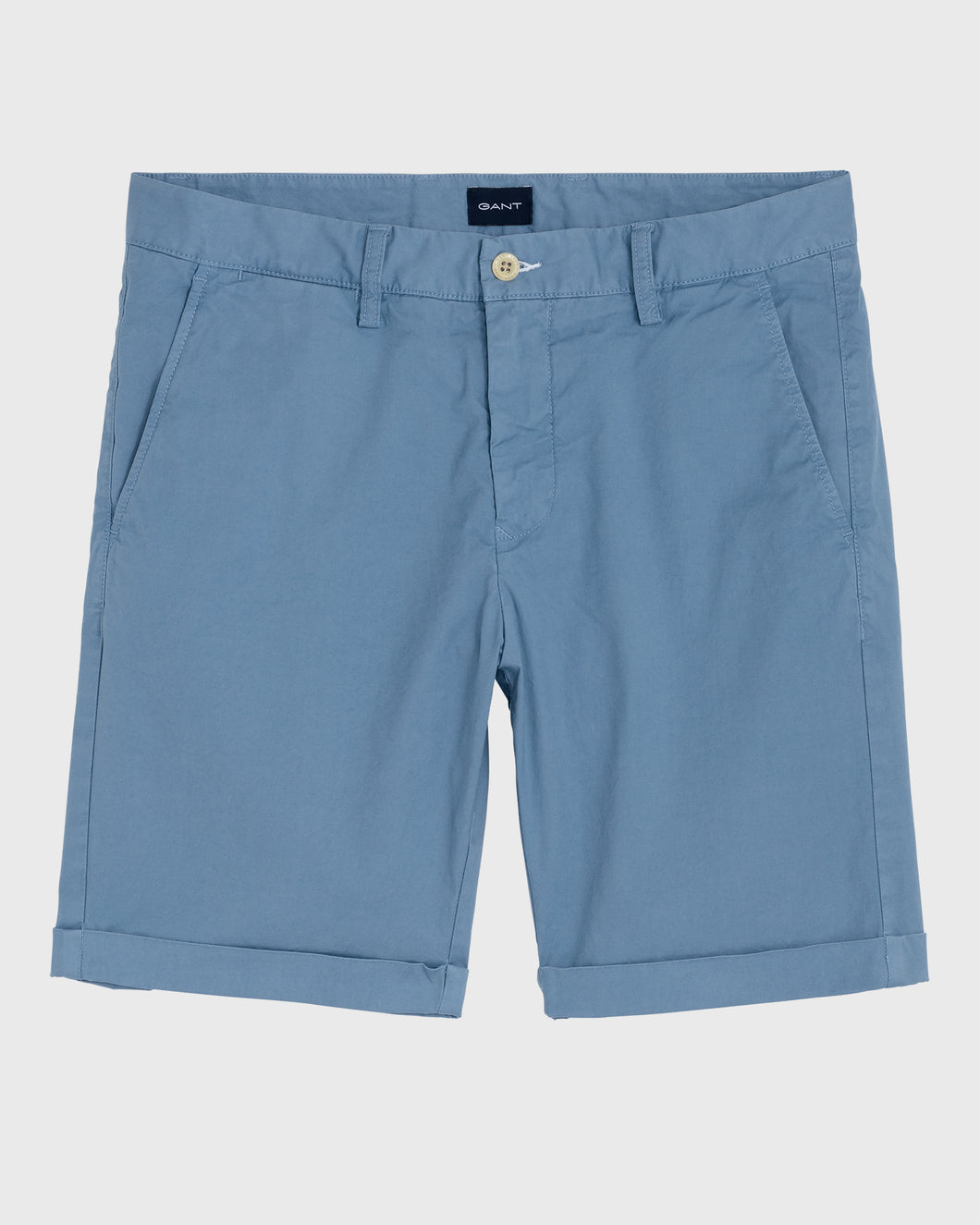 Gant Sunbleached Shorts Mid Blue