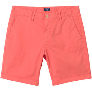 Gant Sunbleached  Chino Shorts Coral