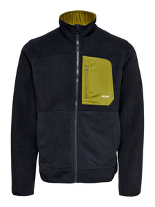 Only & Sons Hike Fleece Jacket Dark Navy